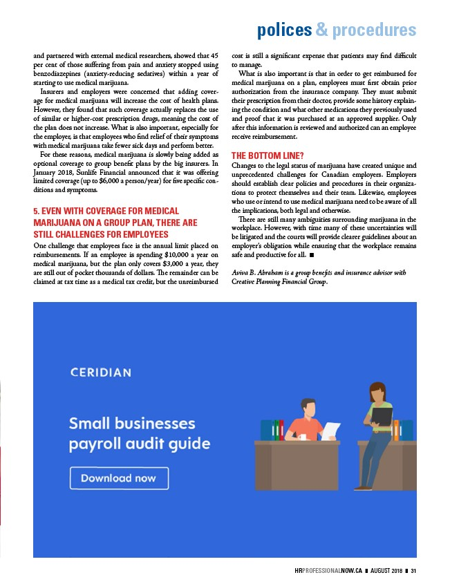 HR Professional - Digital Edition - August 2018 - Page 33