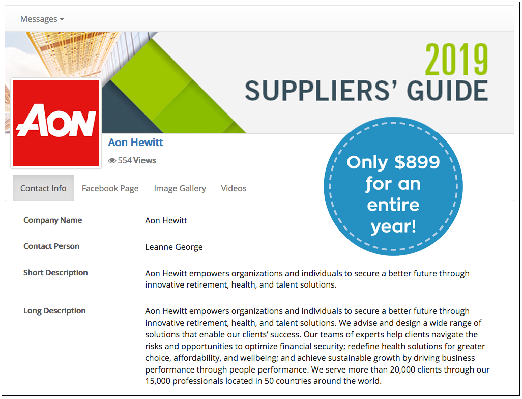 AON SuppliersGuide