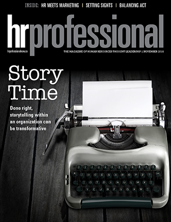 HR Professional Digital Magazine - November 2018
