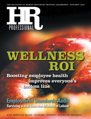 HR Professional August/September 2009